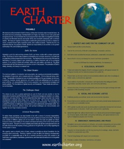 The Earth Charter as a godless religion