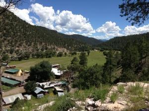 Overlooking Apache Creek Camp