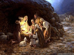 Merry Christmas! May you seek and serve the risen Savior!