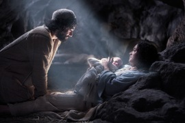 Jesus has always been God, the Eternal Son. His incarnation simply united Him physically with humanity.