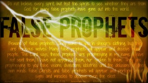 False prophets on the loose and the church yawns
