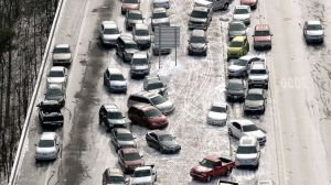 For people who don't know how to drive in snow and ice, it takes less than a second to do something wrong.