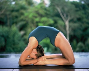 I really wish I could bend like this...without the yoga of course.