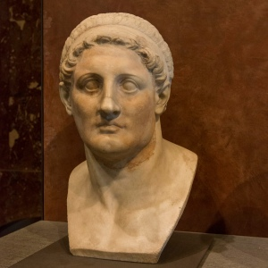 Bust of Ptolemy I Soter (323-285 B.C.)