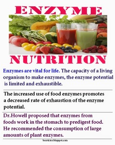 What God did not tell everyone but simply told them what not to eat. He did so for a very good reason and it has to do with eating enzyme-rich foods that make and keep us healthy.