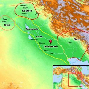 The Land of Shinar dates back to the time of Nimrod and very early Babylon.