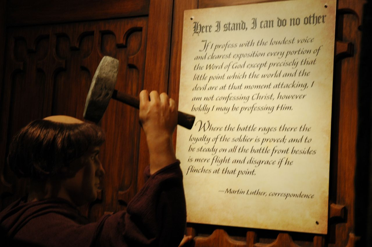 Martin Luther s 95 Theses - fordham edu