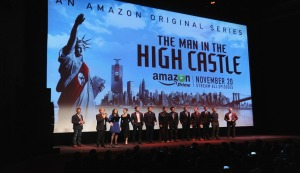 "New York premiere of Amazon Original's ""Man In The High Castle"" at Alice Tully Hall on November 2, 2015 in New York City."