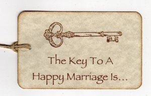 A piece of paper only makes a marriage LEGAL...