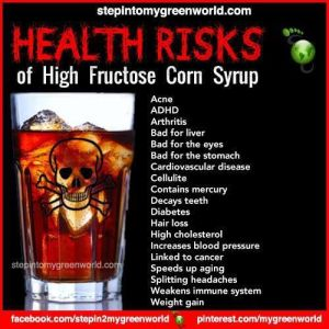 Would you ingest poison in moderation? Then why are ingesting HFCS at all?