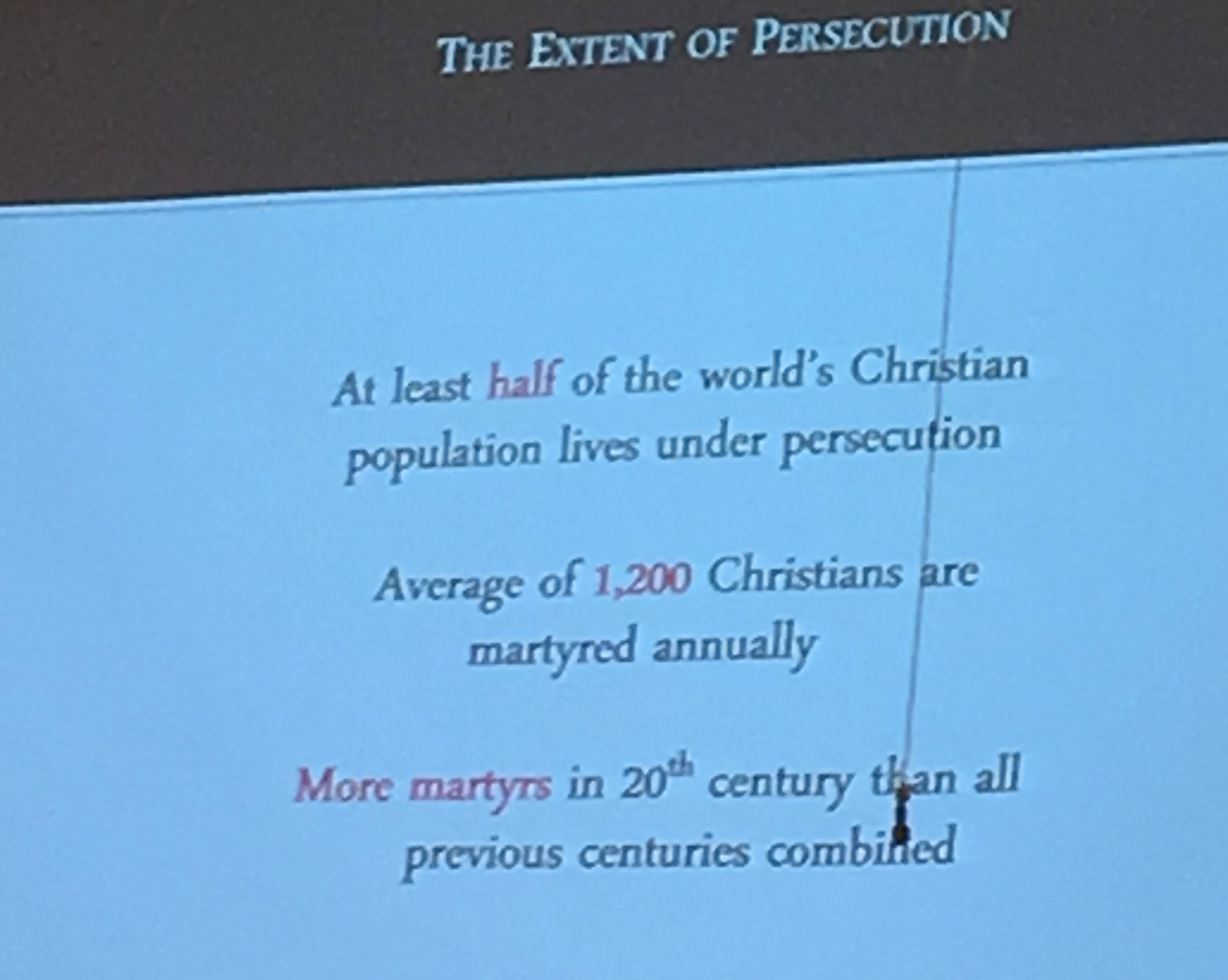 American Christians Seem To Be Missing The Point Part Study - Christian world population 2016